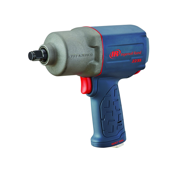 "Ingersoll Rand 2235QTIMAX 2-1/2"" Super Duty Extended Anvil Quite Air Impact Wrench"