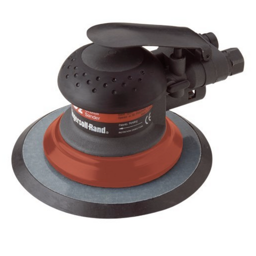 "Ingersoll Rand 4152 6"" Orbital Palm Pnuematic Sander for Fine Finishing"