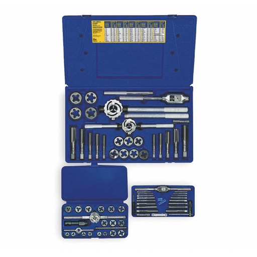 Irwin Hanson 97312 66-Piece Metric Tap and Die Set - 3mm-24mm