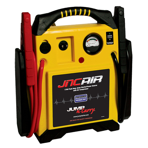 Jump-N-Carry JNCAIR 1700 Peak Amp 12 Volt Jump Starter with Air - Free Shipping