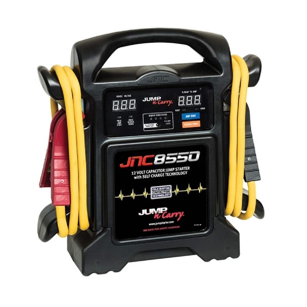 Jump N Carry JNC8550 550 Amp Start Assist 12V Capacitor Jump Starter - Free Shipping
