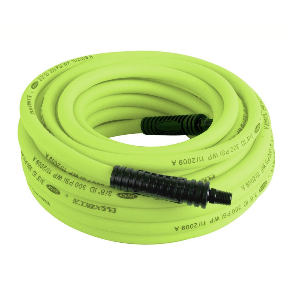 "Legacy HZP38100YW2 Flexilla Pro 3/8""x100' Reusable 1/4"" NPT Fitting Hose"