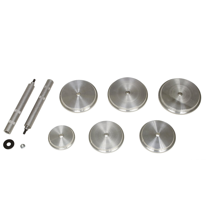 Lisle 39890 3-Piece Angled Fuel Disconnect Set