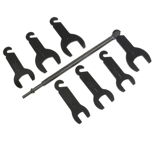 Lisle 43300 Pneumatic Fan Clutch Wrench Set for Ford & Chrysler