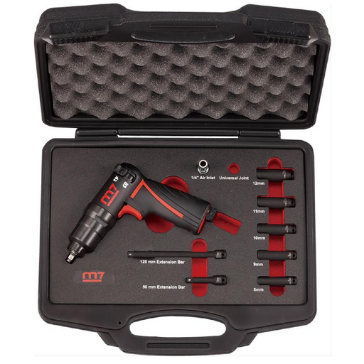 "M7 NC-2210N 1/4"" Drive Mini Impact Wrench Set"