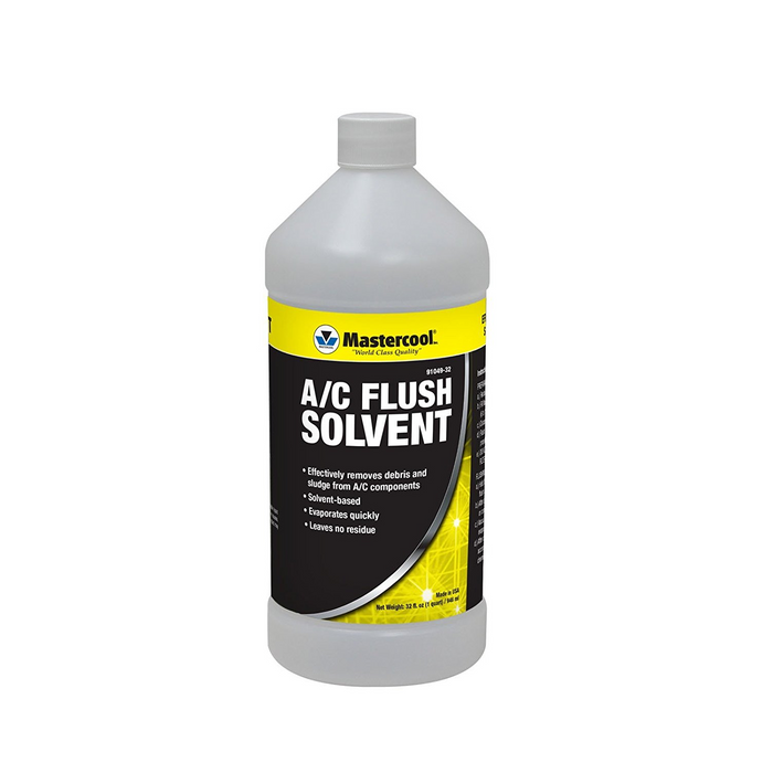 MasterCool 91049-32 A/C Flush Solvent - 32 oz