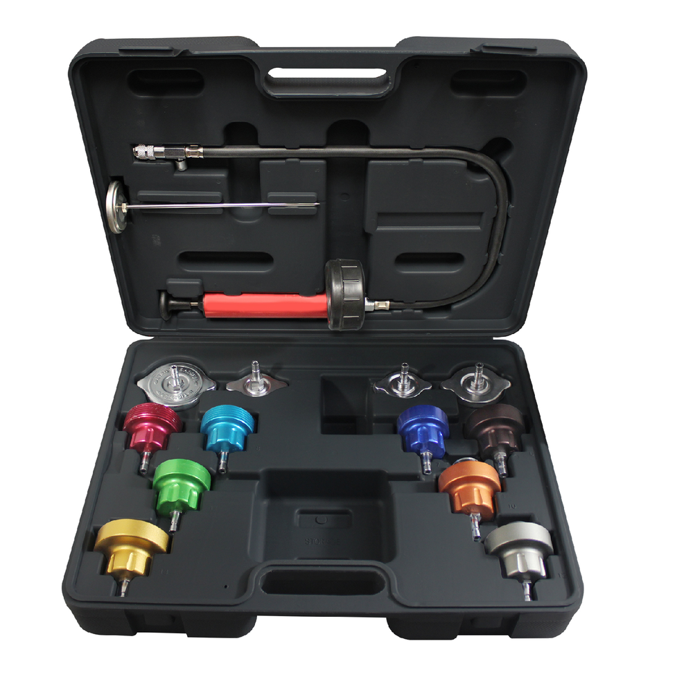 Mastercool 43300 14-Piece Cooling System Pressure Test Kit - Free Shipping