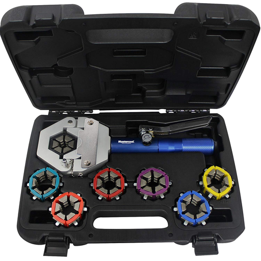 Mastercool 71500-A Hydra Krimp Deluxe AC Crimper Kit