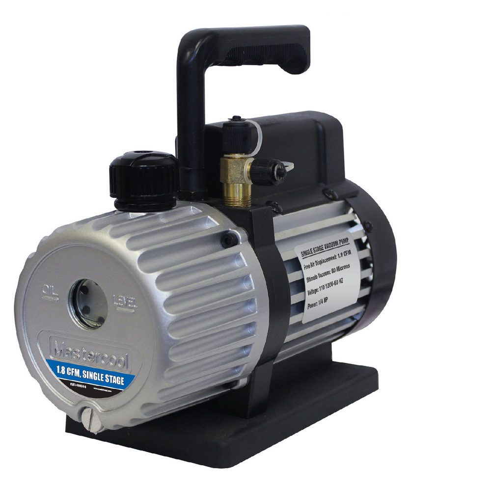 Mastercool 90059-B Single Stage 1.8 CFM Vacuum Pump