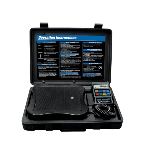 Mastercool 98210-A Accu-Charge II Programmable AC Refrigerant Scale - Free Shipping