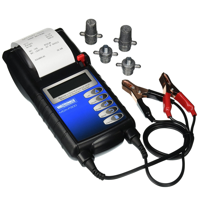 Midtronics MDX-P300 12 Volt Battery/Charging System Tester Built in Printer - Free Shipping