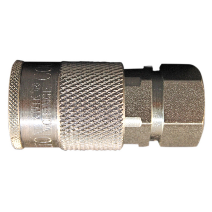 "Milton 1835S 3/8"" X 3/8"" Female NPT H Style Air Coupler"