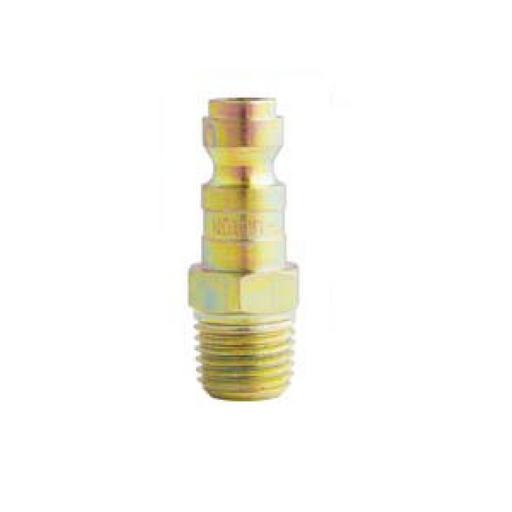 "Milton 783S 1/4"" X 1/4"" Male NPT T Style Air Nipple"