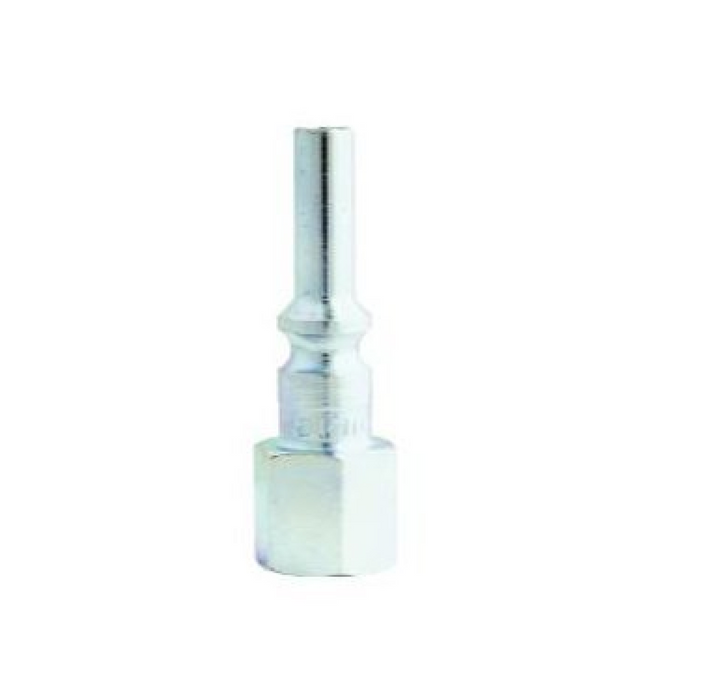 "Milton 792S 1/4"" X 1/4"" Female NPT L Style Air Nipple"