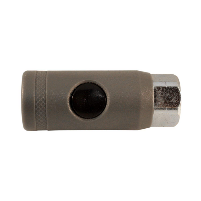 "Milton S99773 A-Style Push Button Coupler - 1/4"" Female"