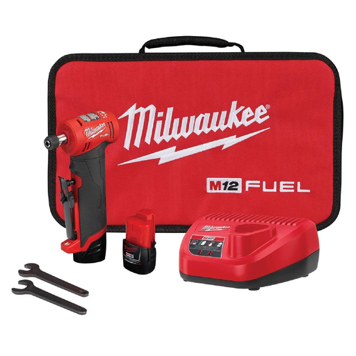 Milwaukee 2485-22 M12 Fuel™ Right Angle Die Grinder Kit