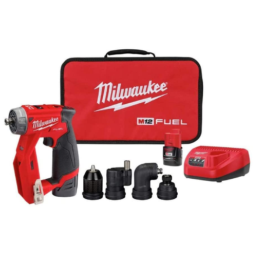Milwaukee 2505-22 M12 Fuel™ Installation Drill Driver Kit