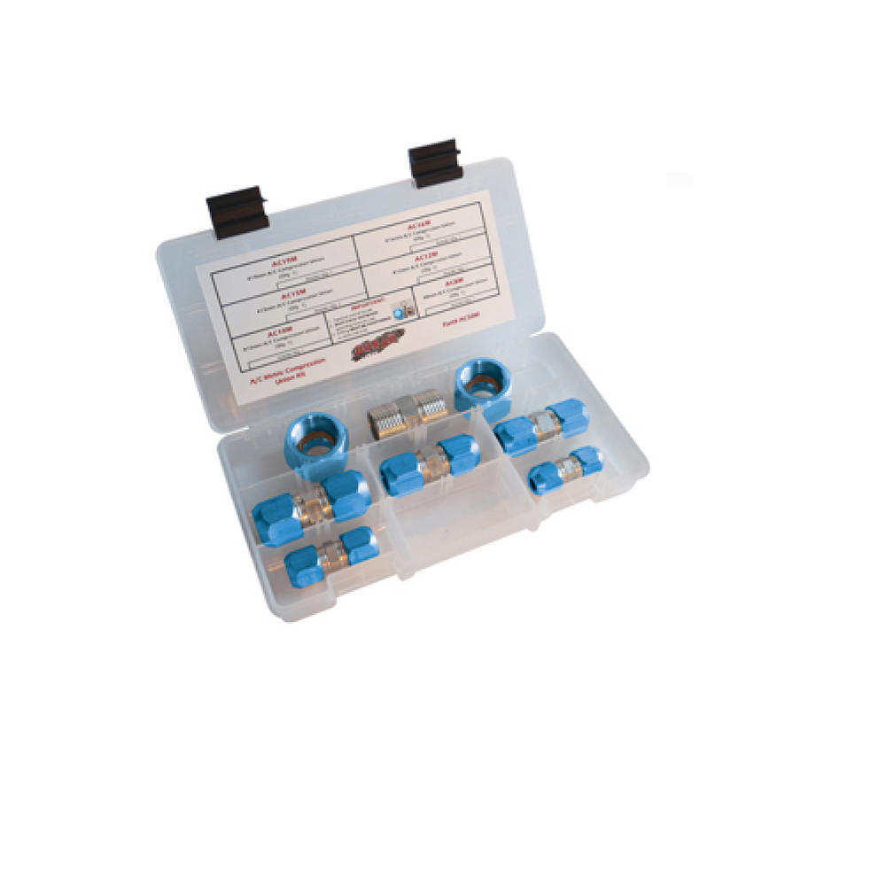 S.U.R.&R. AC90M Metric AC Compression Block Off Kit