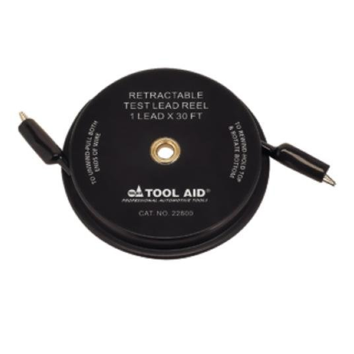 S & G Tool Aid 22800 Retractable Test Lead Reel -1 Lead x 30'