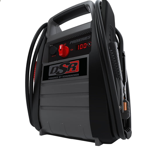 Schumacher DSR116 DSR Pro Series 12V Jump Starter with Inverter