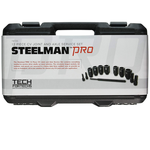 Steelman 78720 12 Piece CV Joint Axle Service Set - Free Shipping
