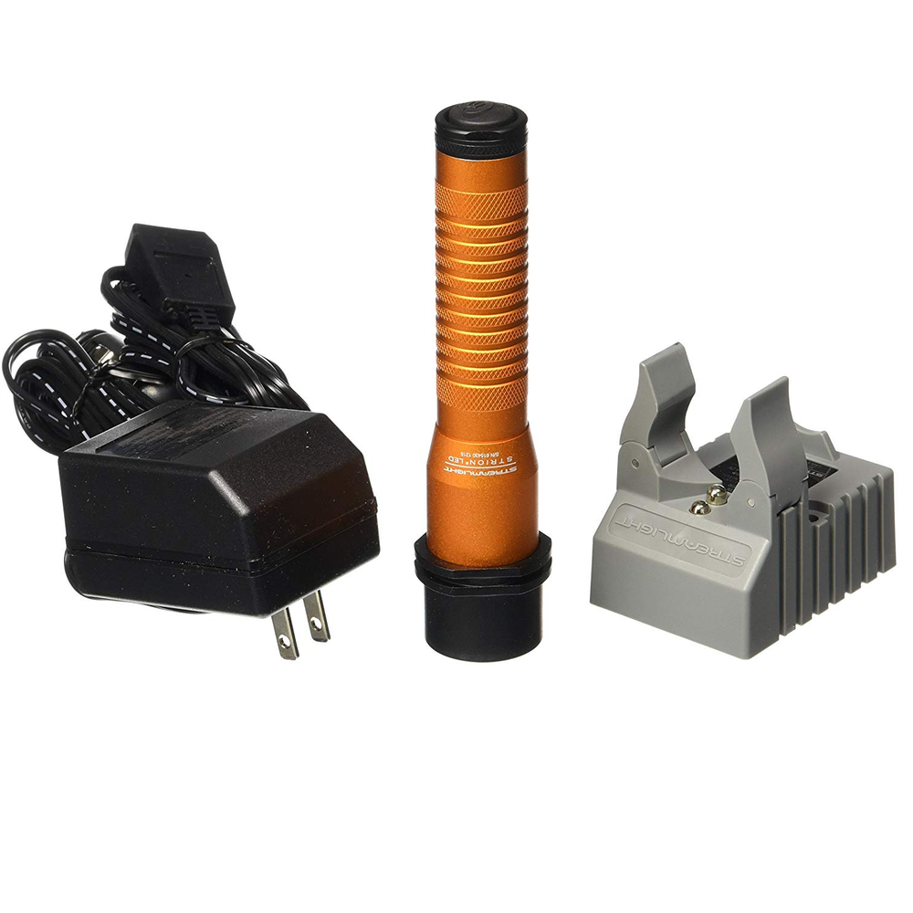 Streamlight 74347 Strion LED Anodized Orange Kit Flashlight AC/DC - Free Shipping