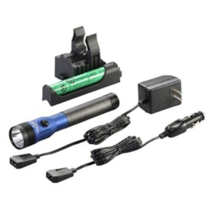 Streamlight 75476 Blue Stinger 800 Lumen LED HL AC/DC with Piggyback Charger
