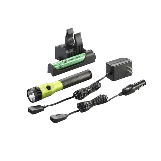 Streamlight 75478 Lime Stinger 800 Lumen LED HL AC/DC with Piggyback Charger
