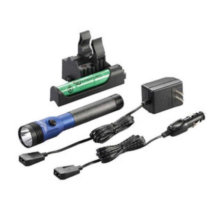 Streamlight 75486 Blue DS Stinger LED HL AC/DC with Piggyback Charger 800 Lumens - Free Shipping