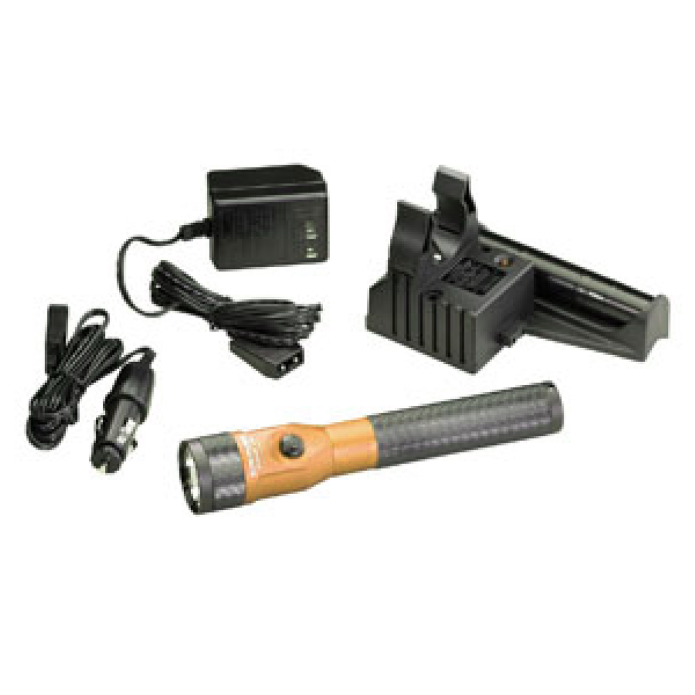 Streamlight 75642 Orange LED Piggyback Stinger AC/DC Kit - Free Shipping