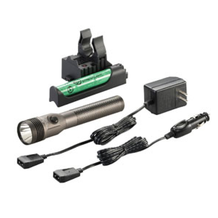 Streamlight 75695 Stinger C4 LED Grey HL 800 Lumens Piggyback Kit - Free Shipping