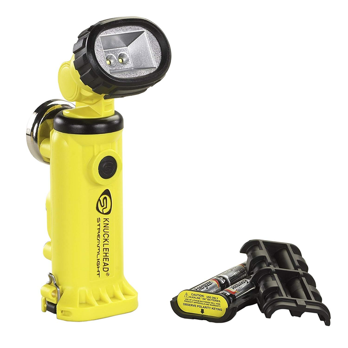 Streamlight 90642 Knucklehead Yellow Magnetic C4 Light with Alkaline Batteries