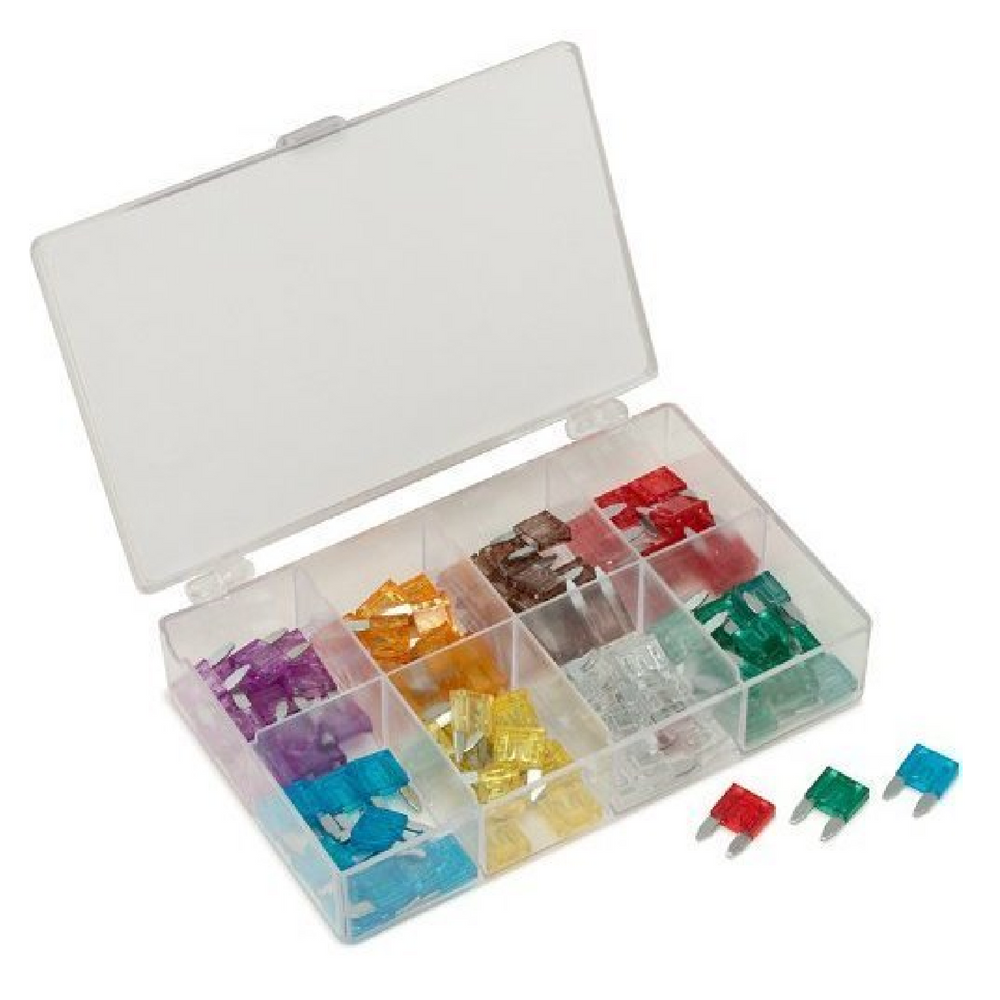 Titan 45229 96 Piece Mini Blade Fuse Assortment