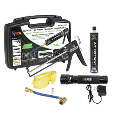 U-View 414565A ExtenDye 64 Vehicle Spotgun AC Leak Detection Kit