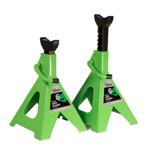 Viking 55060 6 Ton Ratcheting Style Jack Stand Set