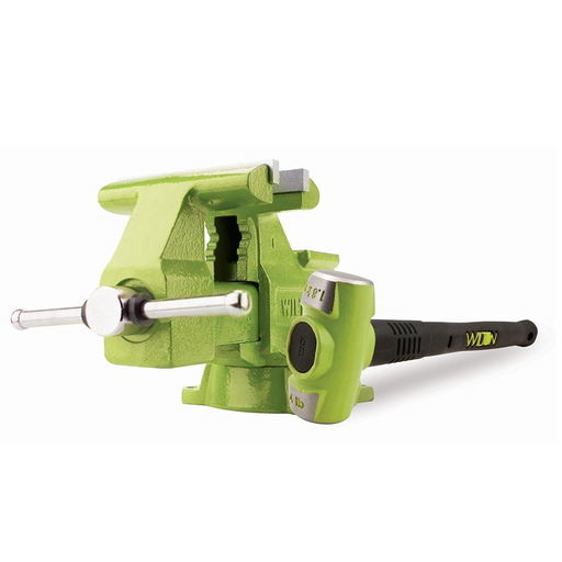 "Wilton 11128BH Bash Green 6.5"" Utility Bench Vise and Sledge Hammer - Free Shipping"