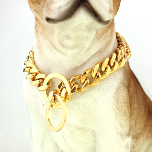 10mm Cuban Link Dog Collar