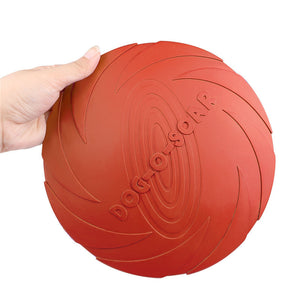 Ultra Tough Dog-O-Soar Rubber Frisbee