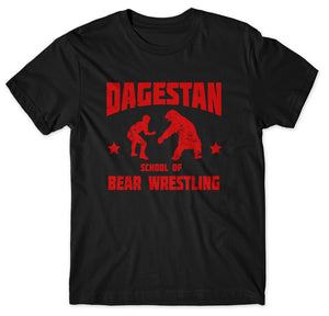 Dagestan School of Bear Wrestling Tee 🐻 🤼‍♂️