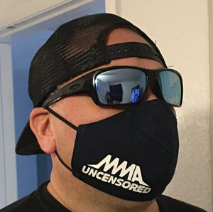(2 PACK) MMA UNCENSORED MASKS