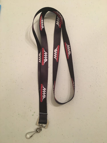 MMA UNCENSORED™️ OFFICIAL LANYARD