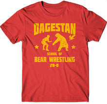 29-0 DAGESTAN BEAR 🐻 🤼‍♀️ TEES 🦅 RED