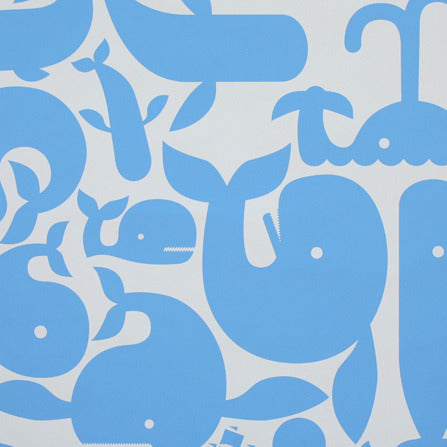 Little Whales wallpaper samples