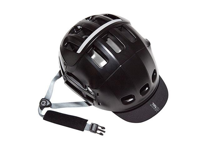 Black Collapsible V2 Helmet