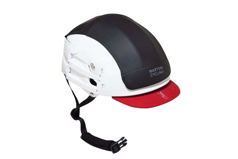 Bicycle HELMET V2 - Collapsible  ( comes in Black or White )