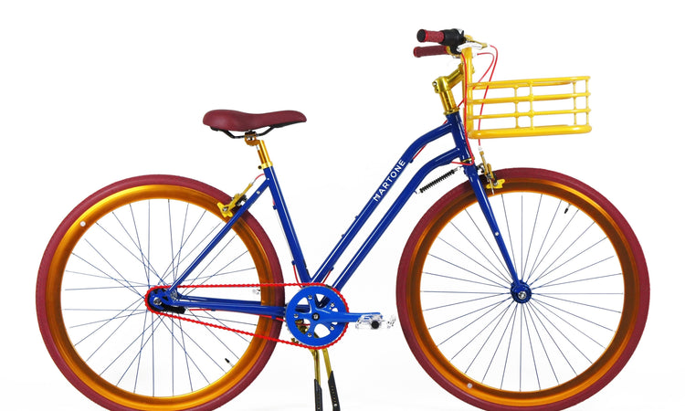Bergen Step-Through V3 Bicycle with basket