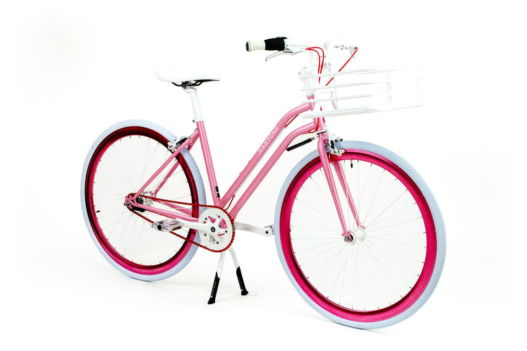 Studio 3 V3 bicycle with basket - Martone Cycling Co.