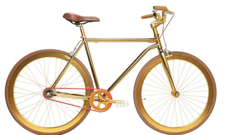 Grand Diamond Gold 52 V3 - Martone Cycling Co.