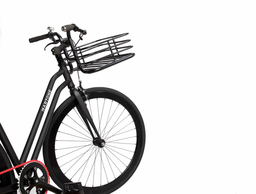 Mercer V3 Bicycle with basket - Martone Cycling Co.