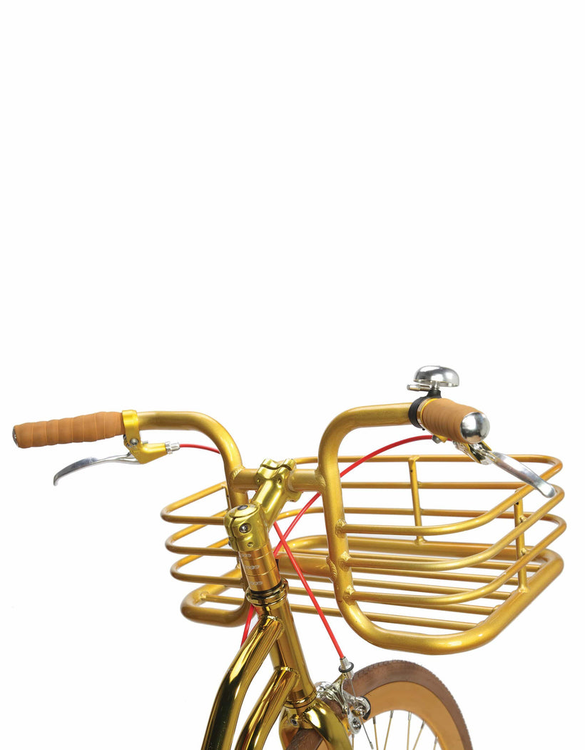 Grand Gold V3 With Basket - Martone Cycling Co.